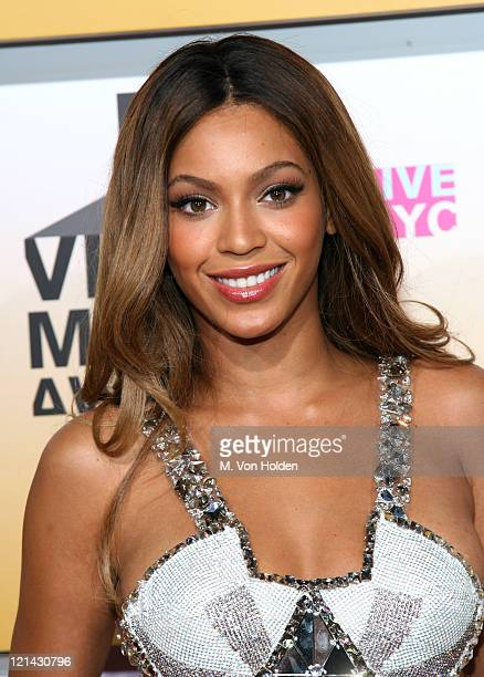 Beyonce during 2006 MTV Video Music Awards Arrivals at Radio City Music Hall in New York City New York United States