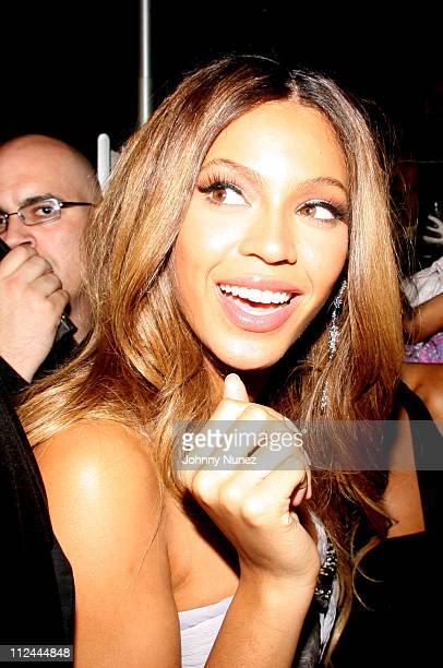 Beyonce during Alize Presents Beyonce's Birthday Party at 40/40 in New York City New York United States