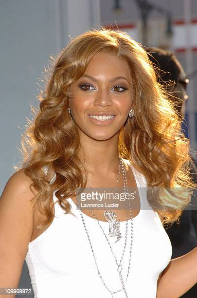 Beyonce during Beyonce and Tommy Hilfiger Launch New Frangrance True Star at Chelsea Art Museum in New York City New York United States