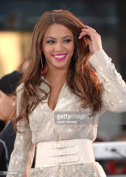Beyonce during Beyonce Performs on NBC's 'The Today Show' April 2 2007 at Rockefeller Center in New York City New York United States