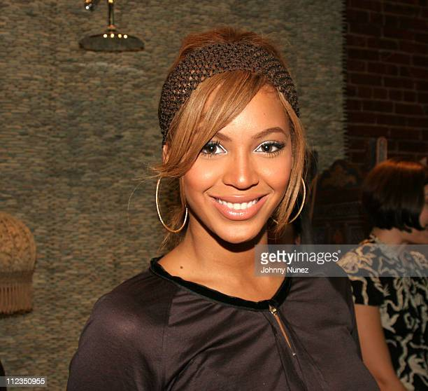 Beyonce during Carol's Daughter Grand Opening in New York City at Carol's Daughter in New York City New York United States