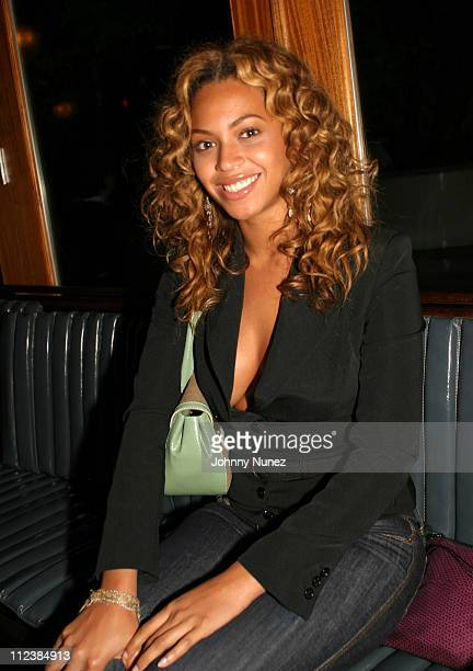 Beyonce during Damon Dash's Birthday Party May 4 2004 at La Bodega in New York City New York United States