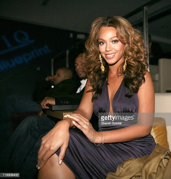 Beyonce during JayZ Celebrates the One Year Anniversary of the 40/40 Club at 40/40 in Atlantic City United States
