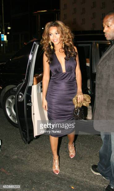 Beyonce during Jay-Z Celebrates the One-Year Anniversary of the 40/40 Club at 40 / 40 in Atlantic City, New Jersey, United States.