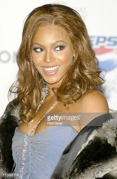 Beyonce during Launch of The Gladiator Pepsi Advertisement Photocall at National Gallery in London Great Britain