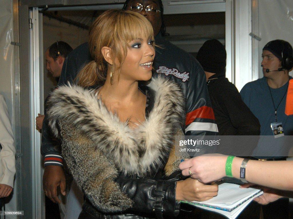 Beyonce during MTV Europe Music Awards 2003 - Arrivals at Ocean Terminal Arena in Edinburgh, Scotland.