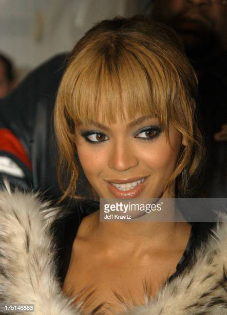 Beyonce during MTV Europe Music Awards 2003 Arrivals at Ocean Terminal Arena in Edinburgh Scotland
