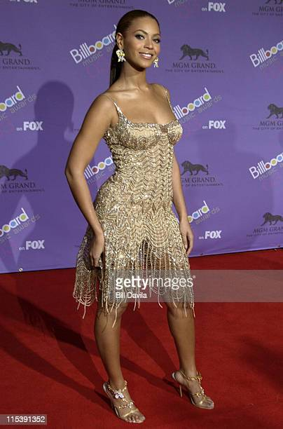 Beyonce during The 2003 Billboard Music Awards Outside Arrivals at MGM Grand Garden Arena in Las Vegas Nevada United States