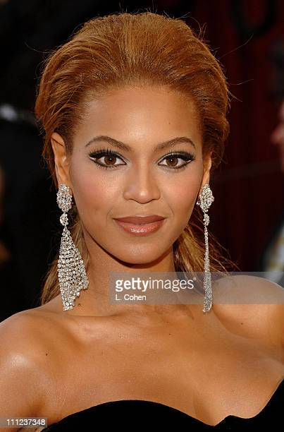 Beyonce during The 77th Annual Academy Awards Arrivals at Kodak Theatre in Hollywood California United States