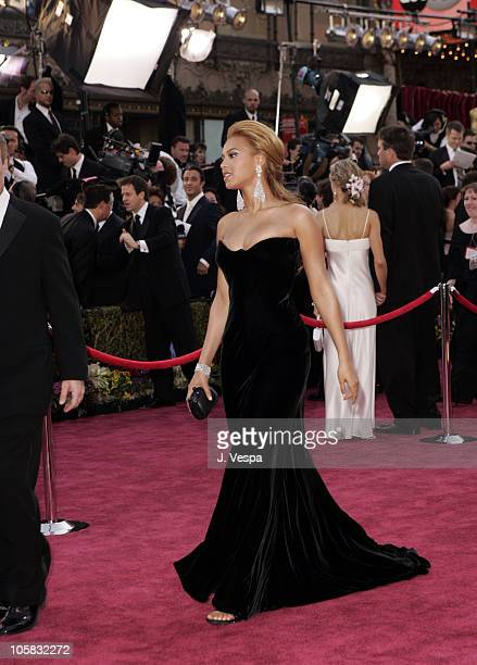 Beyonce during The 77th Annual Academy Awards Executive Arrivals at Kodak Theatre in Hollywood California United States