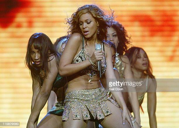 Beyonce during Verizon Ladies First Tour March 24 2004 at Fleet Center in Boston Massachusetts United States