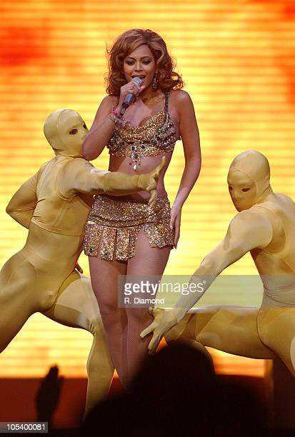Beyonce during Verizon Ladies First Tour Show March 282004 at Philips Arena in Atlanta Georgia United States