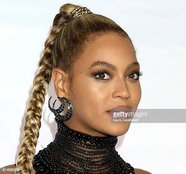 Beyonce earring detail attends TIDAL X 1015 at Barclays Center on October 15 2016 in New York City