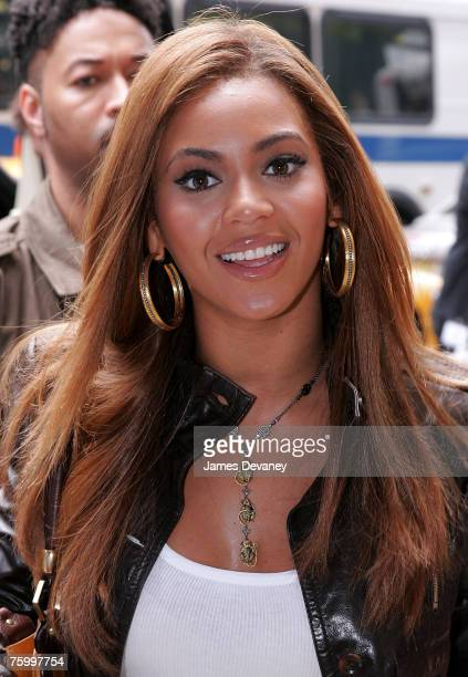 Beyonce films commercial for American Express at the Ukrainian Institute in New York City on August 6 2007