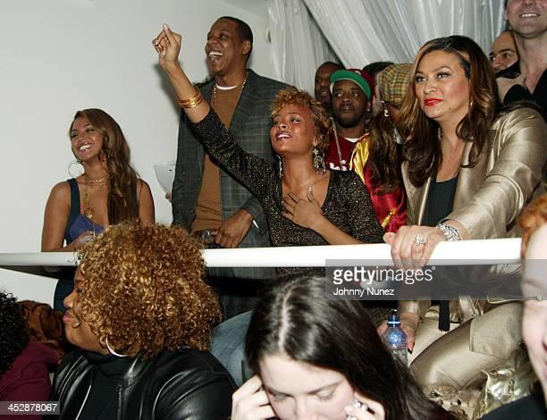 Beyonce JayZ Eva Jermaine Dupri and Beyonce's Mom