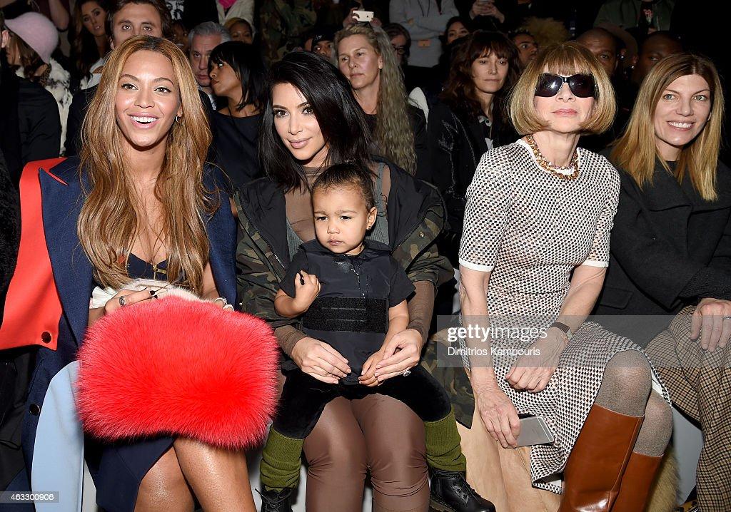 adidas Originals x Kanye West YEEZY SEASON 1 - Front Row & Backstage : News Photo