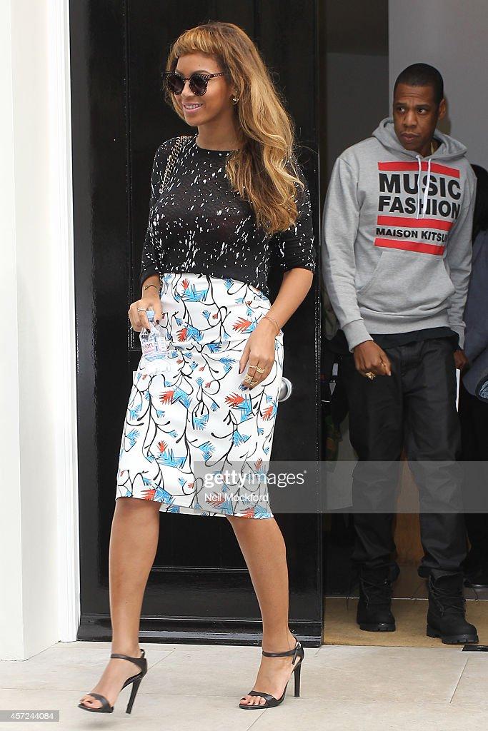 London Celebrity Sightings -  October 15, 2014 : Foto jornalística