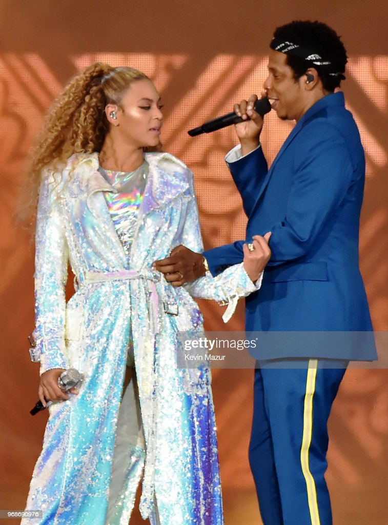 """Beyonce and Jay-Z """"On the Run II"""" Tour Opener - Cardiff : News Photo"""