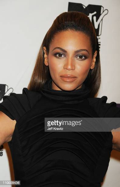 Beyonce Knowles arrives for the 2008 MTV Europe Music Awards held at at the Echo Arena on November 6 2008 in Liverpool England