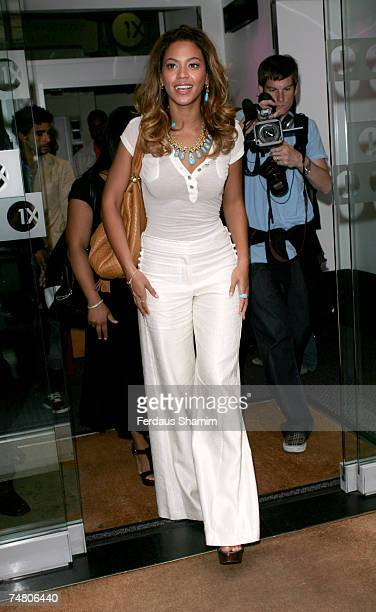 Beyonce Knowles at the Radio One in London United Kingdom