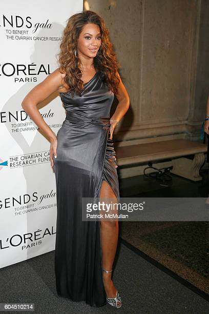 Beyonce Knowles attends L'OREAL Legends Gala Benefiting The Ovarian Cancer Research Fund at The American Museum Of Natural History on November 8 2006