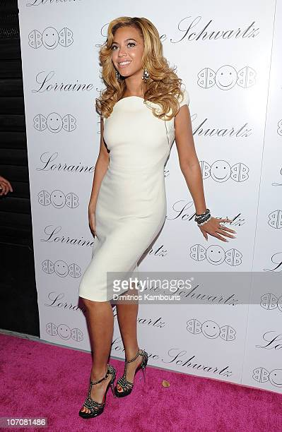 "Beyonce Knowles attends Lorraine Schwartz ""2BHAPPY"" Jewelry Collection launch at Lavo on November 22, 2010 in New York, New York."