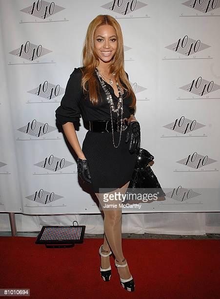 Beyonce Knowles attends the 40/40 Club Hosts JayZs Exclusive After Party at The 40/40 Club in New York on May 62008