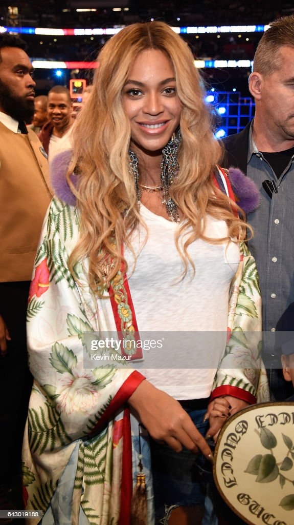 Beyonce Knowles attends the 66th NBA All-Star Game at Smoothie King Center on February 19, 2017 in New Orleans, Louisiana.