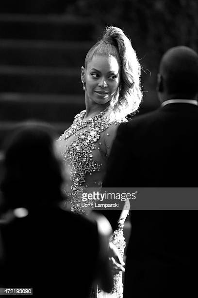 Beyonce Knowles attends the China Through The Looking Glass Costume Institute Benefit Gala at Metropolitan Museum of Art on May 4 2015 in New York...