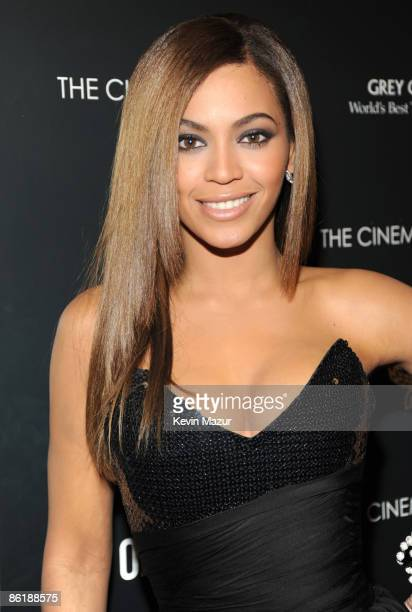 """Beyonce Knowles attends the Cinema Society and MCM screening of """"Obsessed"""" at the School of Visual Arts on April 23, 2009 in New York City."""