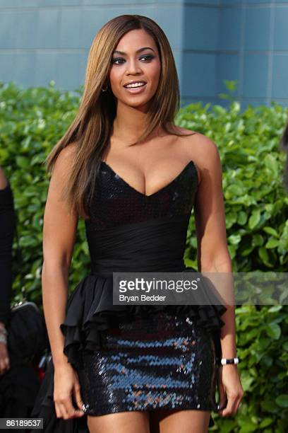 Beyonce Knowles attends the Cinema Society and MCM screening of Obsessed at the School of Visual Arts on April 23 2009 in New York City
