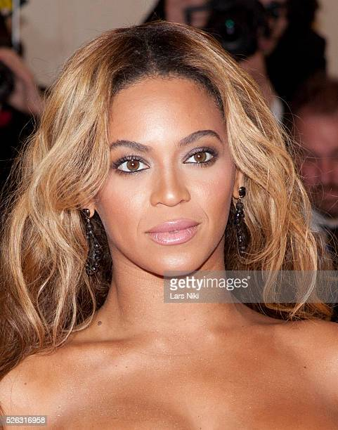 Beyonce Knowles attends the Costume Institute Gala for the 'PUNK Chaos to Couture' exhibition at the Metropolitan Museum of Art in New York City ��...