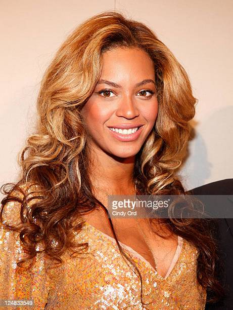 Beyonce Knowles attends the JCrew Spring 2012 fashion show during MercedesBenz Fashion Week at The Stage at Lincoln Center on September 13 2011 in...
