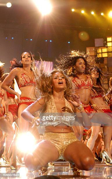 Beyonce Knowles during 2003 MTV Video Music Awards Show at Radio City Music Hall in New York City New York United States