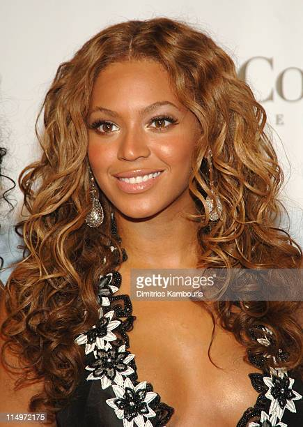 Beyonce Knowles during 2005 Fashion Rocks Arrivals at Radio City Music Hall in New York City New York United States
