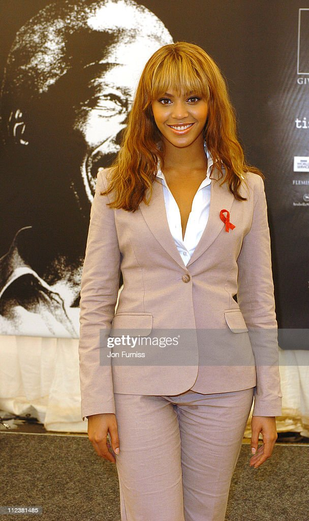 Beyonce Knowles during '46664: Give 1 Minute Of Your Life To AIDS' Concert - Press Room at Greenpoint Stadium in Cape Town, Western Cape, South Africa.