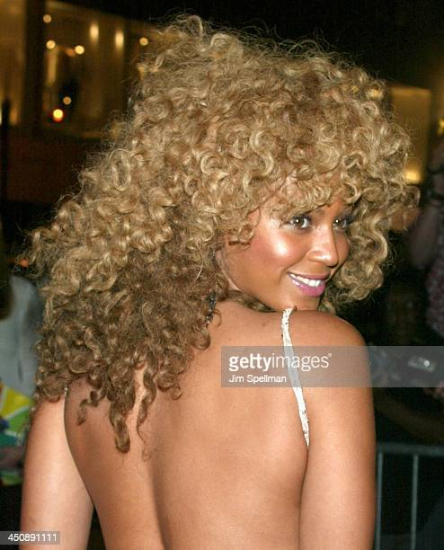 Beyonce Knowles during Austin Powers in Goldmember New York Screening AfterParty at Barneys New York in New York City New York United States