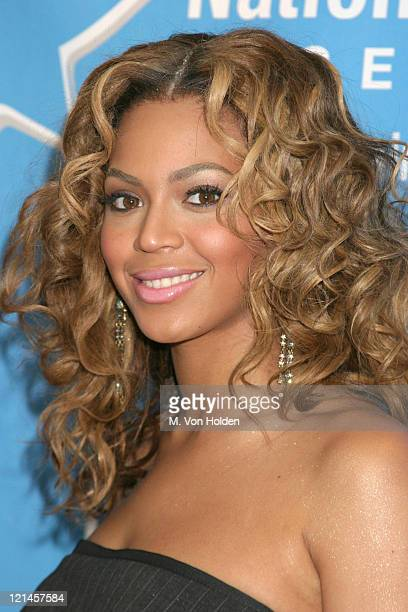 Beyonce Knowles during Hollywood Hits Broadway, EIF's National Colorectal Cancer Research Alliance fundraiser at Queen Mary 2, Pier 92 in New York,...
