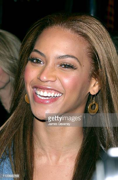 Beyonce Knowles during Michelle Williams' Opening Night of AIDA at The Palace Theater in New York City New York United States
