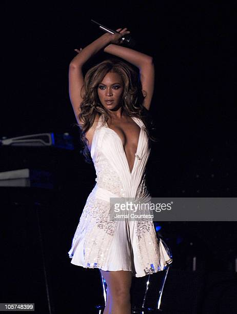 Beyonce Knowles during The Cipriani Wall Street Concert Series Presents The Series Finale Beyonce at Cipriani's Wall Street in New York City New York...
