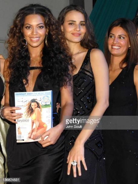 Beyonce Knowles Fernanda Tavares and Yamila DiazRahi