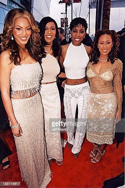 Beyonce Knowles Michelle Williams Kelly Rowland and Farrah Franklin of Destiny's Child