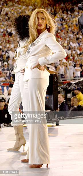 Beyonce Knowles of Destiny's Child during NFL Opening Kickoff 2004 – Pregame Show at Gillette Stadium in Foxboro, Massachusetts, United States.