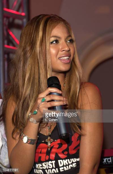 Beyonce Knowles of Destiny's Child during The 44th Annual GRAMMY Awards Clive Davis PreGRAMMY Party at Beverly Hills Hotel in Beverly Hills...