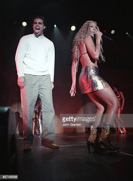 Beyonce Knowles of Destinys' Child performs live on stage at the Hordern Pavillion on July 18th 2002 in Sydney Australia
