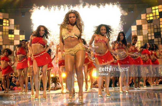Beyonce Knowles performs at the 2003 MTV Video Music Awards at the Radio City Music Hall in New York City New York