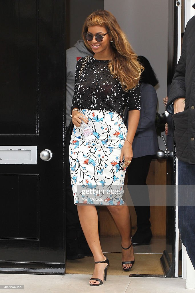 London Celebrity Sightings -  October 15, 2014 : Foto jornalística