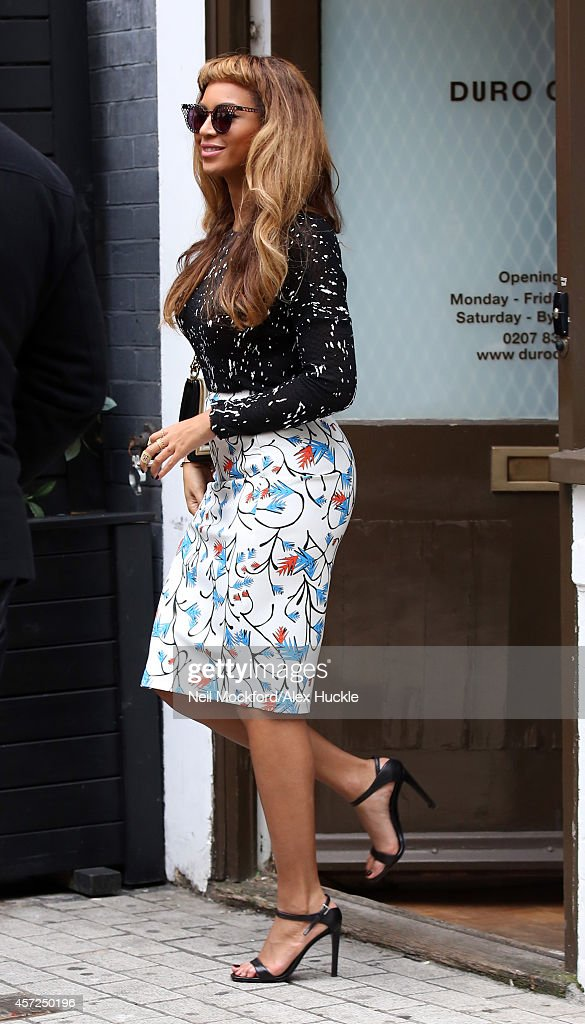 London Celebrity Sightings -  October 15, 2014 : Nachrichtenfoto