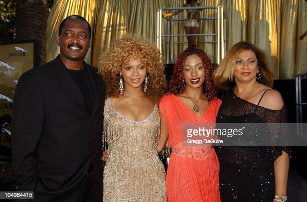 Beyonce Knowles sister Solange parents during 'Austin Powers In Goldmember' Premiere at Universal Amphitheatre in Universal City California United...