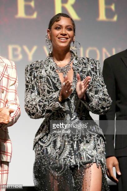 """Beyonce Knowles-Carter attends the World Premiere of Disney's """"THE LION KING"""" at the Dolby Theatre on July 09, 2019 in Hollywood, California."""